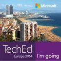Microsoft TechEd Europe 2014....I'm going!!