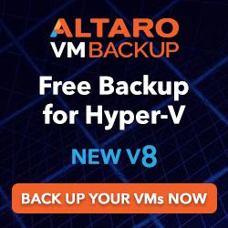 Free Backup for Hyper-V